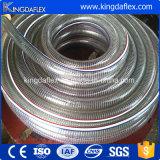 Mangueira de reforço de fio de aço em espiral de PVC