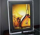 Acrylique Affichage LED de la publicité de petite taille