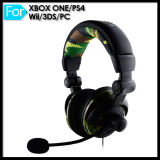 PS4 xBoxのためのワイヤーで縛られたHeadphone Mic One Wii Game Console