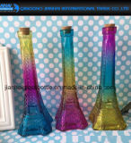 Frasco de vidro do filtro de Liquior do vinho da torre Eiffel Collectible do vintage