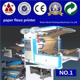 Stack de type 2 Couleur machine d'impression flexographique (machine d'impression flexographique)