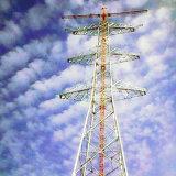 башня передачи силы стальной трубы двойной цепи 1000kv линейная
