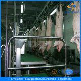 Apparecchiatura automatica di salasso del maiale della macchina di macello del maiale
