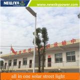 30W Meilleurs prix garantis de qualité tout en un seul voyant LED solaire Rue lumière LED avec batterie au lithium