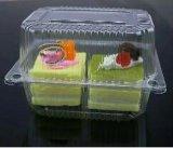 Blister transparente embalaje desechables de plástico bandeja de fruta ensalada de torta de contenedor de verificación