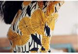 Платья женщин типа длиннего платья флористической печати способа лета шифоновые новые