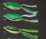 Diferente tipo Sapo Lure Soft Body Frog Fishing Lure