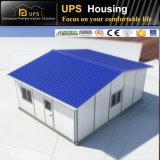 Casa de descarga fácil del chalet prefabricado estructural de acero incombustible excelente