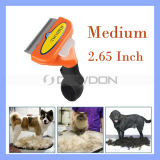 Mittleres Size Fur Pet Hair Removal Comb Dog und Cat Pet Brush Grooming Hair Deshedding Tool