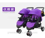 Greensky paart Baby-Spaziergänger-/Double-Sitzbaby-Spaziergänger
