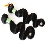 100%の人間の毛髪の拡張卸売7Aの等級のベトナムに毛の編むこと