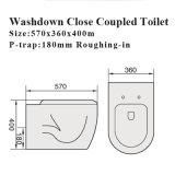 Watermark Artículos Sanitarios Cuarto de Baño Wc Pan Ceramic Toilet