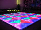 25PCS X1m X1m neuestes Produkt RGB LED Dance Floor für DJ-Stadiums-Hochzeits-Dekoration