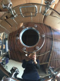 """24 """"en acier inoxydable en forme ronde Tank Pressure Manway Door with Sight Glass"""