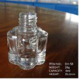 Pflaume-Blüten-Form-Nagellack-Glasflasche