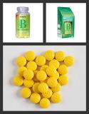 Tablettes oranges masticables de la vitamine C 500mg de saveur de GMP