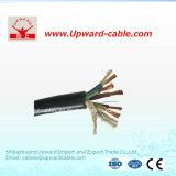 5cores het rubber isoleerde Elektrische Kabels