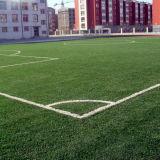 Herbe artificielle de gazon synthétique du football professionnel avec le prix usine