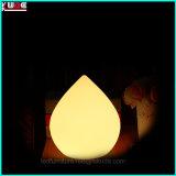 Lamp van de Decoratie van de Verandering van de Kleur van de Schemerlamp van de Schemerlamp van het ei de Navulbare