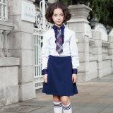 Middel School Shirt for Boy, Slim Fit School Shirt Uniforme