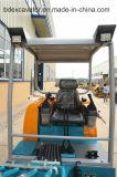 Máquina escavadora 2.3t da esteira rolante de Baoding mini com placa da escavadora