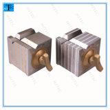 Magnetischer v-Block-quadratischer Block mit Schalter