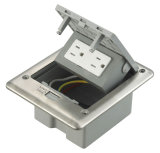 Heraus Netzdosen-Wasser-Beweis-Kontaktbuchse-Fußboden-Kasten der Tür-IP66