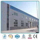 Edificio prefabricado del almacén de la construcción de la estructura de acero del bajo costo para la venta