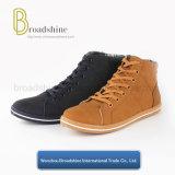 Ботинки лодыжки хорошего качества вскользь для человека и женщины