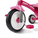 Ihren eigenen Firmenzeichen-Radio-Flugblatt-rosafarbenen Plastikmitfahrer Trike konzipieren
