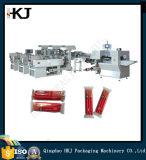 Máquina de empacotamento automática da vela da alta qualidade com 8 pesadores