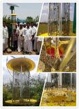 고능률 태양 농업 곤충 살인자 램프, 녹색 농약