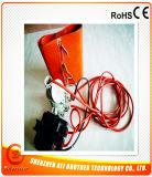 電気シリコーンゴムのドラムヒーターデジタル220V 2000W 250*3000*1.5mm