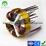 Indutor magnético amorfo da bobina do anel para a fonte de alimentação