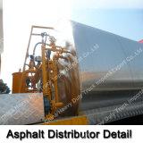 Versenden Tanker-LKW vom China-HOWO 8m3/vom Bitumen-Verteiler-LKW