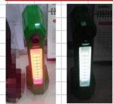 Gummireifen-Luftpumpe-Gewehr-Luft-Hilfsmittel mit Emergency LED-Licht, Fahrzeug bearbeitet Inflation-Anzeigeinstrument, Gummireifen-Druckanzeiger