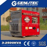 De lucht koelde Lange 5000W - in werking gestelde Draagbare Stille Diesel Generator (DG6700SLE)