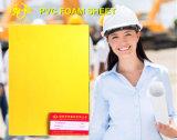 Feuille de mousse PVC jaune épais
