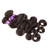 cabelo molhado e ondulado do cabelo humano não processado do Virgin brasileiro da classe da rainha 8A de Ali da onda do corpo do cabelo do Virgin 4bundles do Virgin do brasileiro