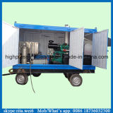 pulitore ad alta pressione industriale della pompa ad acqua del pulitore di tubo del condensatore 100MPa