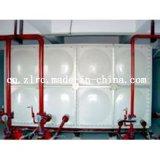 Покрынная эмалью стальная секционная обработка питьевой воды цистерны с водой