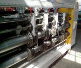 기계를 인쇄하는 2개의 색깔 물 잉크 판지