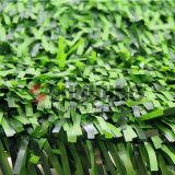 플라스틱은 담쟁이 잎 담 회양목 인공적인 산울타리를 산울타리로 두른다