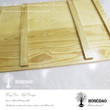 Rectángulo de madera de encargo del vino de Hongdao para seis botellas Wholesale_F