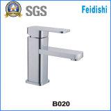 Faucet de bronze da bacia do banheiro novo do estilo no revestimento do cromo (B020)