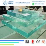 Anti verre feuilleté gâché par Sgp d'espace libre de glissade pour des escaliers