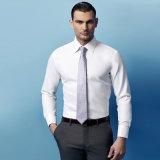 人の方法長い袖の綿形式的なビジネスワイシャツ