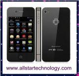 """主演しなさいW007 Mtk6575 1GHzのアンドロイド4.0の3Gスマートな携帯電話3.5 """"容量性スクリーンGPS WiFiの携帯電話512MB/2GB W007 (W007)"""
