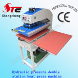 CE Certificate Automatic Hydraulic Pressure Double Station Heat Press Machine40*40cm Oil Pressure Heat Transfer Machine T-Shirt Printing Machine Stc-Yy01