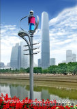300W Wind Solar Hybrid Straßenlaterne